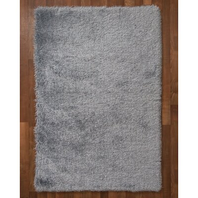 Orlando Hand-Tufted Gray Area Rug Rug Size: Rectangle 4 x 6