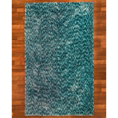 Maldives Hand-Woven Turquoise Area Rug Rug Size: Rectangle 5 x 8