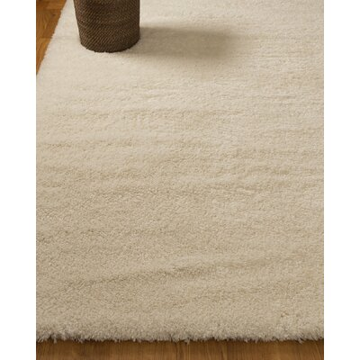 Paisley Hand-Woven White Area Rug Rug Size: Rectangle 67 x 9
