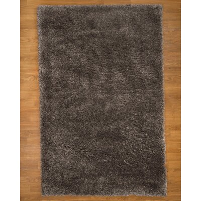 Parasol Hand-Woven Gray Area Rug Rug Size: Rectangle 8 x 10