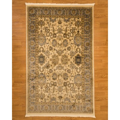Turkish Beaufort Beige/Brown Area Rug Rug Size: Rectangle 5 x 8
