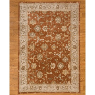 Saville Rust Area Rug Rug Size: Rectangle 53 x 75