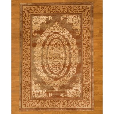 Stella Rust Area Rug Rug Size: Rectangle 27 x 411