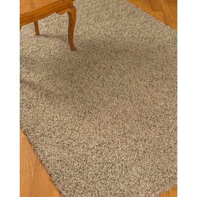 Isla Shag Gray Area Rug Rug Size: Rectangle 53 x 75