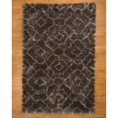 Palos Hand-Woven Black Area Rug Rug Size: Rectangle 8 x 10