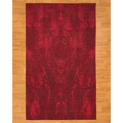 Anegada Red Area Rug Rug Size: Rectangle 6 x 9