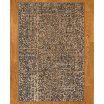 Istanbul Ivory/Black Area Rug Rug Size: Rectangle 53 x 77