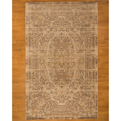 Allegro Brown Area Rug Rug Size: Rectangle 6 x 9