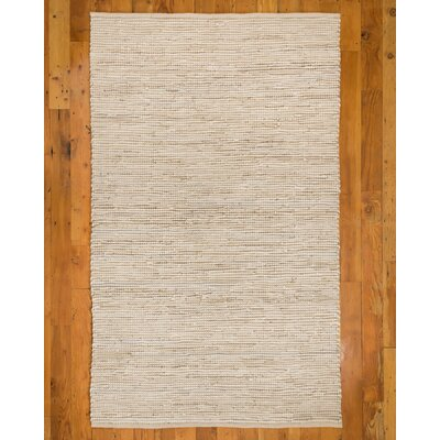 Brianna Handmade Beige Area Rug Rug Size: Rectangle 6 x 9