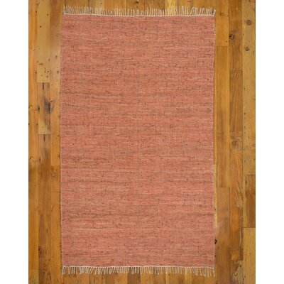 Brasada Red/Orange Area Rug Rug Size: Rectangle 8 x 10