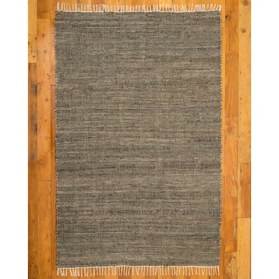 Brinson Black/Gray Area Rug Rug Size: Rectangle 6 x 9