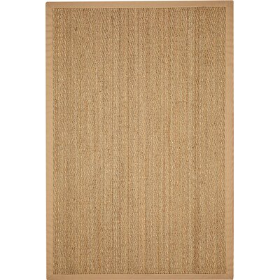 Alland Hand-Woven Sage/Khaki Area Rug Rug Size: Rectangle 6 x 9