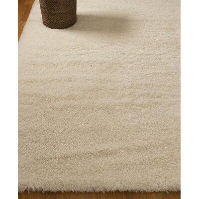 Paisley Shag Beige Area Rug Rug Size: Rectangle 67 x 9