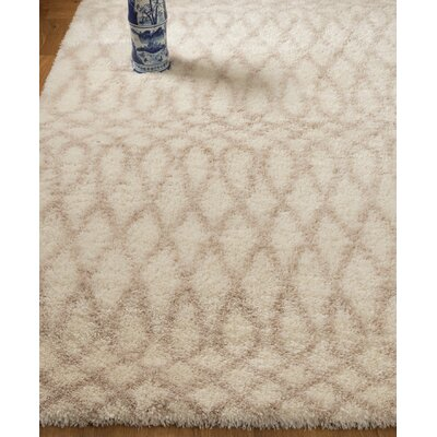 Hand Woven Beige Area Rug Rug Size: Rectangle 67 x 9