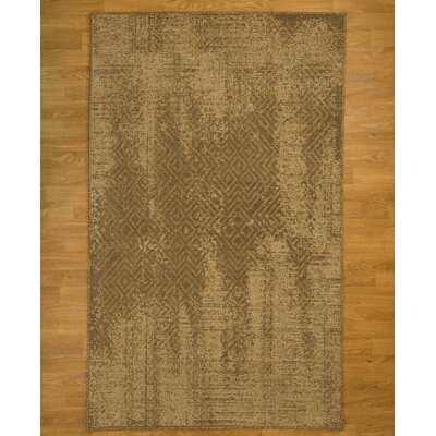 Rome Oriental Hand-Woven Beige Area Rug Rug Size: Rectangle 5 x 8