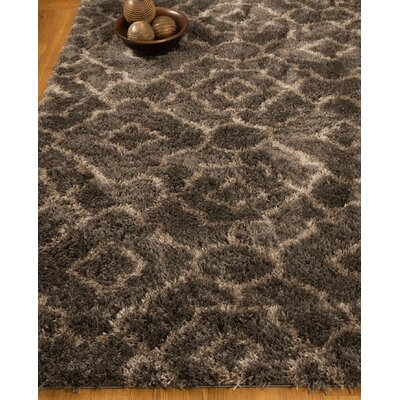 Gray Area Rug Rug Size: Rectangle 53 x 8