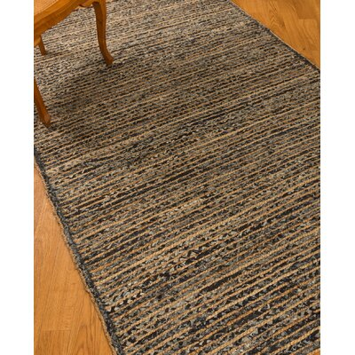 Riggins Hand Woven Blue Area Rug Rug Size: Rectangle 5 x 8