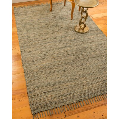 Marion Hand-Loomed Gray/Beige Area Rug Rug Size: Rectangle 6 x 9