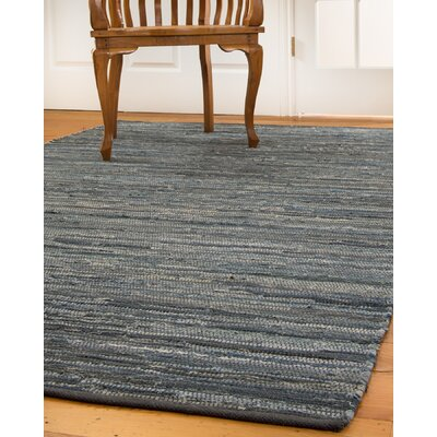 Montero Hand-Loomed Blue/Gray Area Rug Rug Size: Rectangle 5 x 8