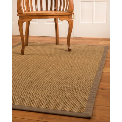 Reyna Hand-Woven Beige Area Rug Rug Size: Rectangle 9 x 12