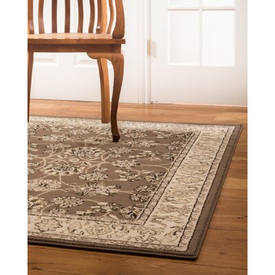 Cabos Beige/Brown Area Rug Rug Size: Rectangle 4 x 6