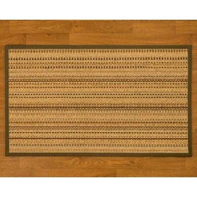 Buschwick Handmade Beige Area Rug Rug Size: Rectangle 5 x 8