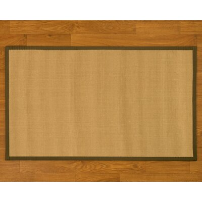Buschwickl Handmade Beige Area Rug Rug Size: Rectangle 5 x 8