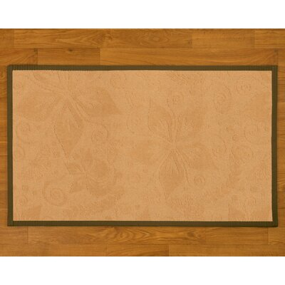 Handmade Beige Area Rug Rug Size: Rectangle 6 x 9