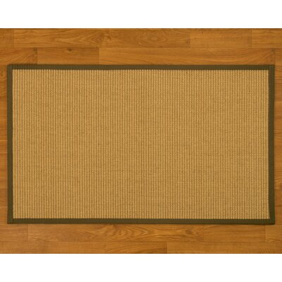 Bulpitt Hand-Woven Malt Area Rug Rug Size: Rectangle 2 x 3