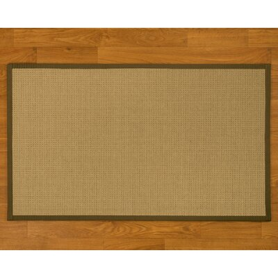 Jacobs Hand-Woven Malt Area Rug Rug Size: Rectangle 4 x 6