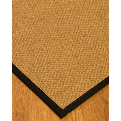 Andlau Natural Fiber Sisal Plus Bonus Hand-Woven Beige Area Rug Rug Size: Rectangle 6 x 9
