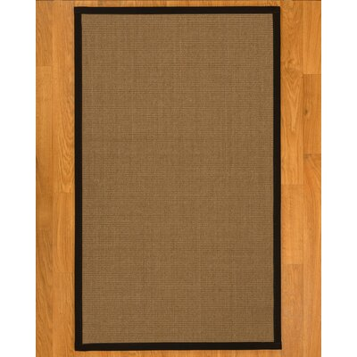Jamesville Natural Fiber Sisal Plus Bonus Hand-Woven Beige Area Rug Rug Size: Rectangle 6 x 9