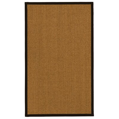 Asmund Natural Fiber Sisal Plus Bonus Hand-Woven Beige Area Rug Rug Size: Rectangle 5 x 8