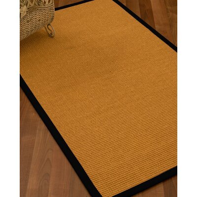 Bullen Hand-Woven Beige Area Rug Rug Size: Rectangle 6 x 9