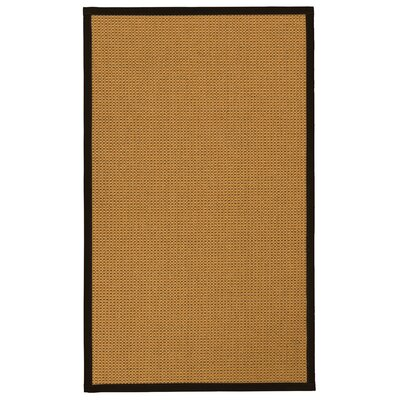 Atia Hand-Woven Beige Area Rug Rug Size: Rectangle 6 x 9