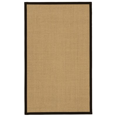 Atwell Natural Hand-Woven Beige Area Rug Rug Size: Rectangle 4 x 6