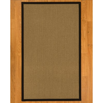 Loehr Hand-Woven Beige Area Rug Rug Size: Rectangle 6 x 9