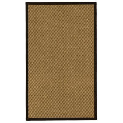 Loehr Hand-Woven Beige Area Rug Rug Size: 6 x 9