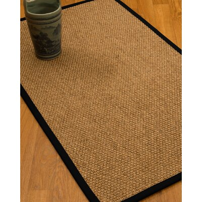 Addilynn Hand-Woven Beige Area Rug Rug Size: Rectangle 4 x 6