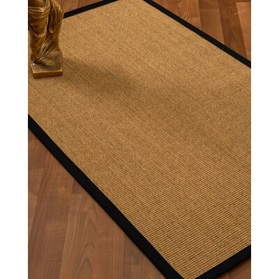 Agnes Handmade Beige Area Rug Rug Size: Rectangle 9 x 12