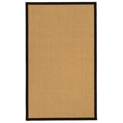 Lanie Hand-Woven Beige Area Rug Rug Size: 2 x 3