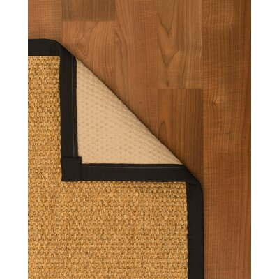 Healey Hand-Woven Beige Area Rug Rug Size: Rectangle 6 x 9