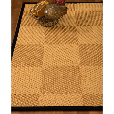 Luhrmann Hand-Woven Beige Area Rug Rug Size: Rectangle 4 x 6