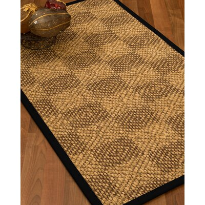 Hearne Hand-Woven Beige Area Rug Rug Size: Rectangle 5 x 8