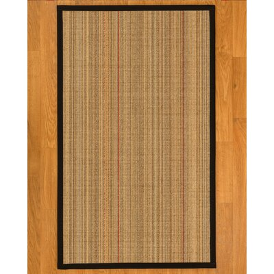 Aura Hand-Woven Beige Area Rug Rug Size: Rectangle 5 x 8