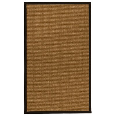Ava Hand-Woven Beige Area Rug Rug Size: Rectangle 5 x 8
