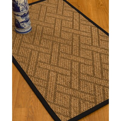 Adelyn Hand-Woven Beige Area Rug Rug Size: Rectangle 4 x 6