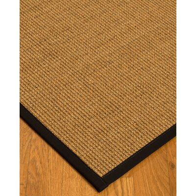 Belves Natural Fiber Sisal Hand-Woven Beige Area Rug Rug Size: Rectangle 9 x 12