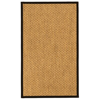 Arya Natural Fiber Sisal Hand-Woven Beige Area Rug Rug Size: Rectangle 4 x 6