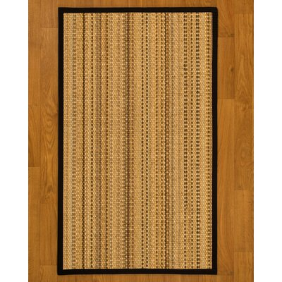Aryana Natural Fiber Sisal Hand-Woven Beige Area Rug Rug Size: 9 x 12
